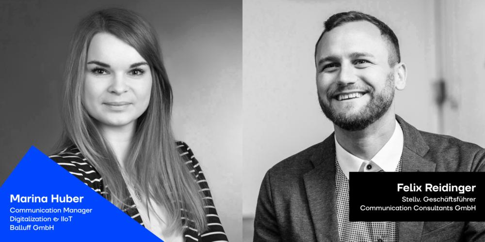 Marina Huber und Felix Reidinger beim Podcast JAD - Blogbeitrag
