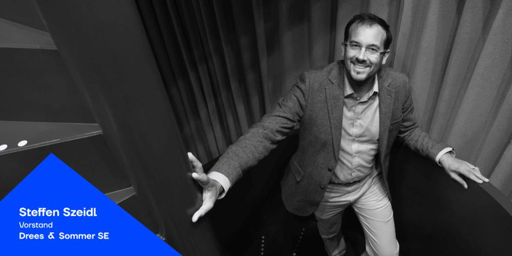 Steffen Szeidl von Drees & Sommer beim Podcast JAD - Blogbeitrag