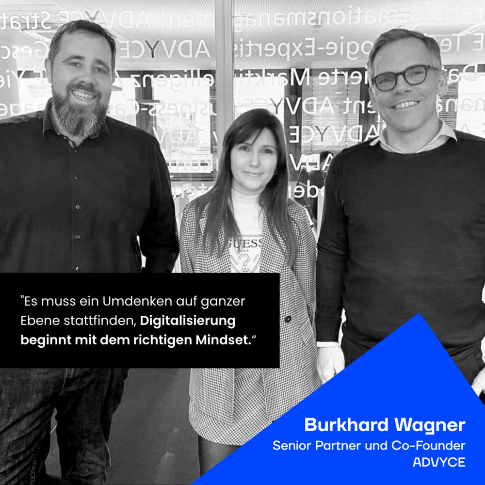 JAD Gruppenbild mit Burkhard Wagner ADVYCE
