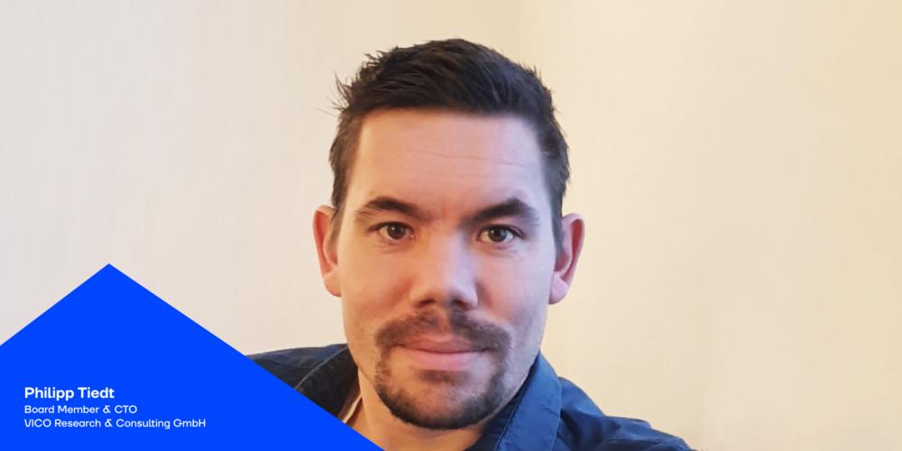 Philipp Tiedt von VICO im Just add Digital Podcast über KI