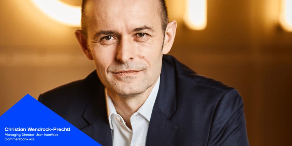 Christian Wendrock-Prechtl über über Userzentrierung in der Finanzbranche im Just add digital Podcast