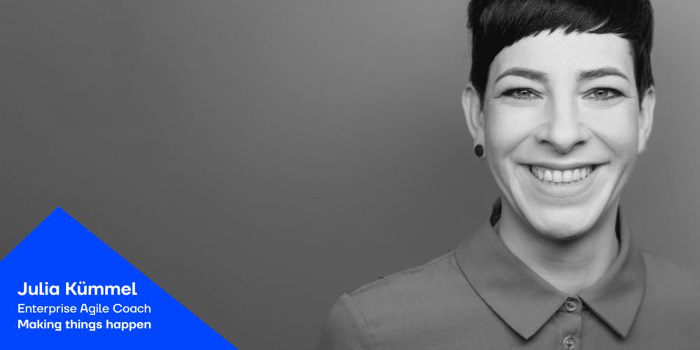 Julia Kümmel von Making things happen beim Podcast JAD - Blogbeitrag