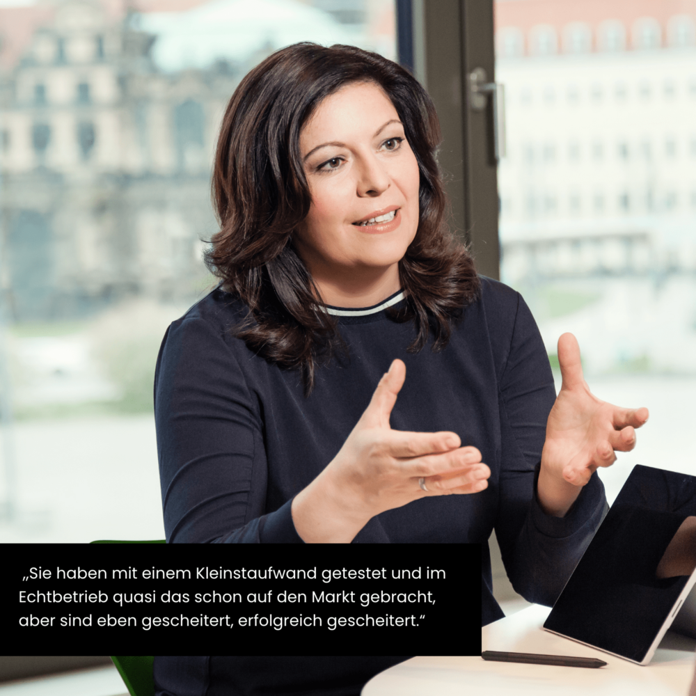 Zitat von CFO der AOK PLUS, Ilka Dekan