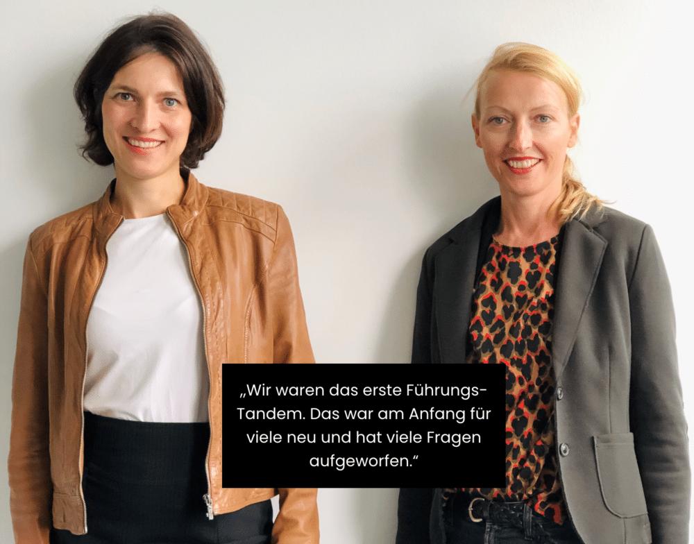 Zitat von Denise Heinermann-Bieler und Carolin Güthenke zu Leadership